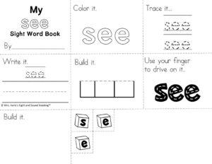 thumbnail of see-sight-word-minibook
