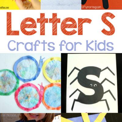 Letter S Crafts for Kindergarten