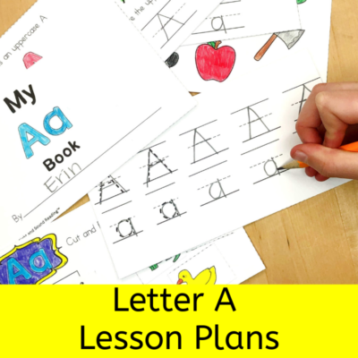 Letter A Lesson Plans