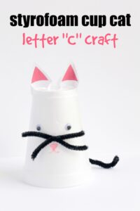 Letter C Craft: Cat