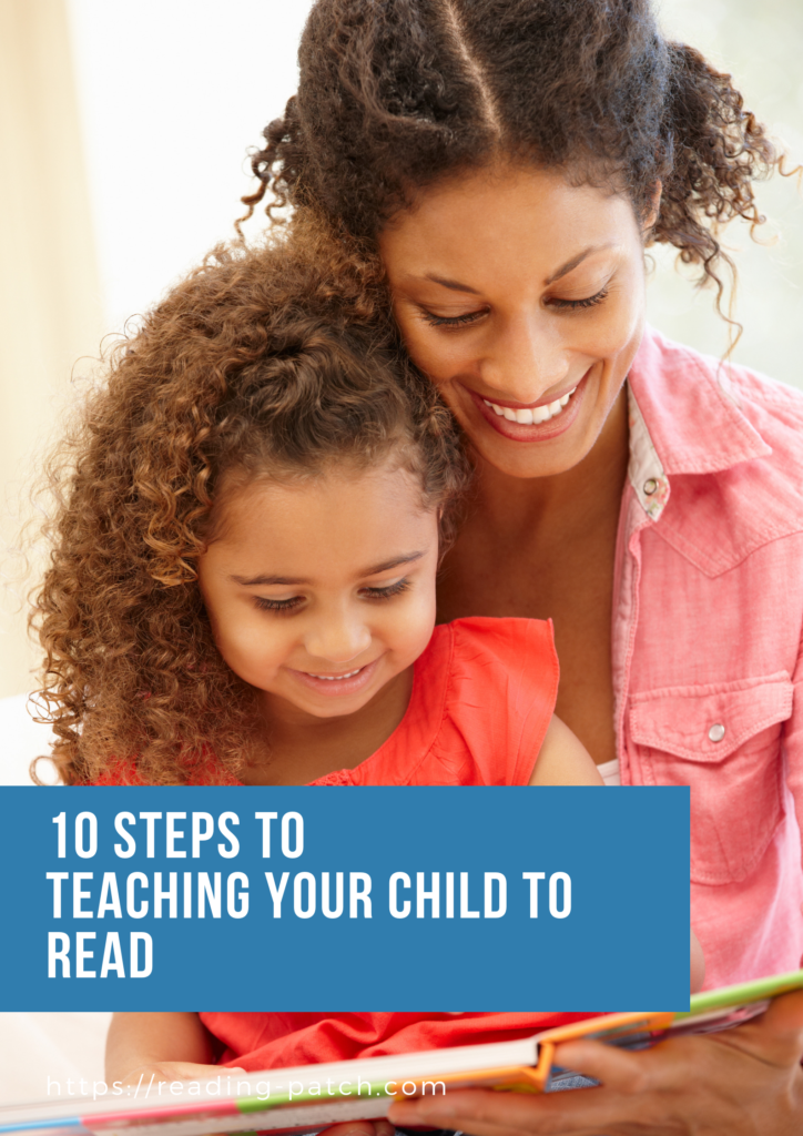 Steps to teaching your child to read