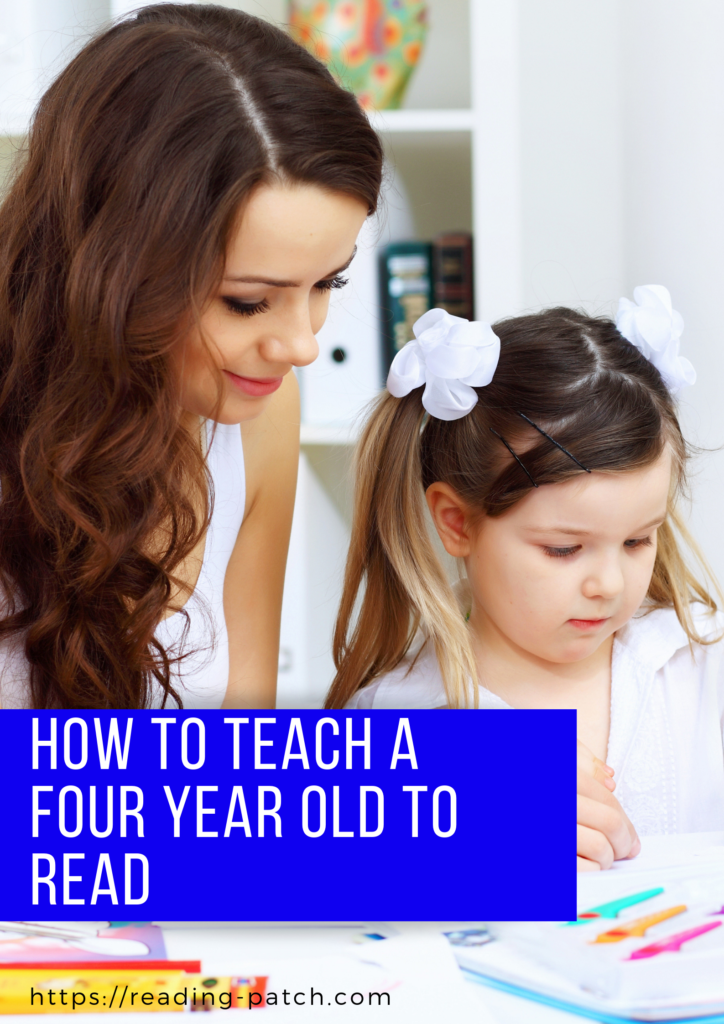 How to teach a four year old to read
