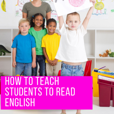 How to Teach Students to Read English