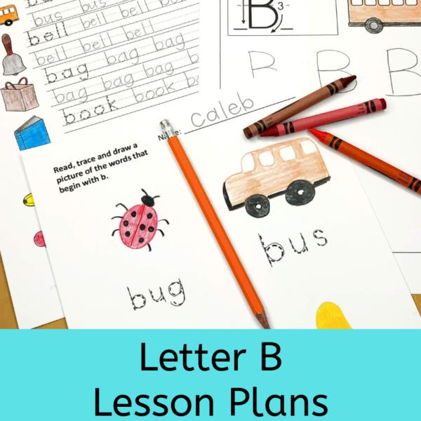 Letter B Lesson Plans for Kindergarten